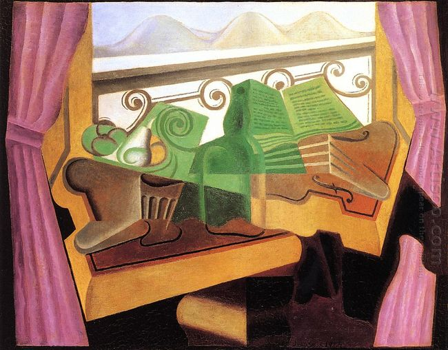 Open Window With Hills 1923