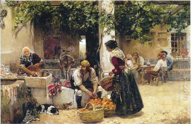 Orange Seller 1891