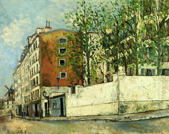 Orchampt Street Near Montmartre