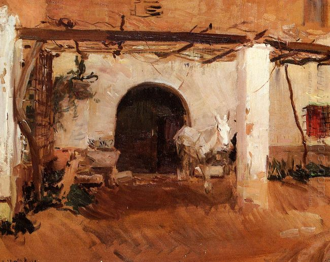 Orchard House Valencia Study 1908