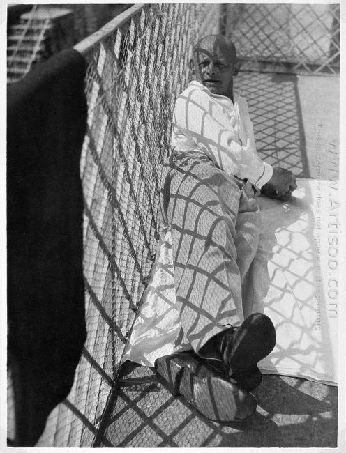 Oskar Schlemmer In Ascona 1926
