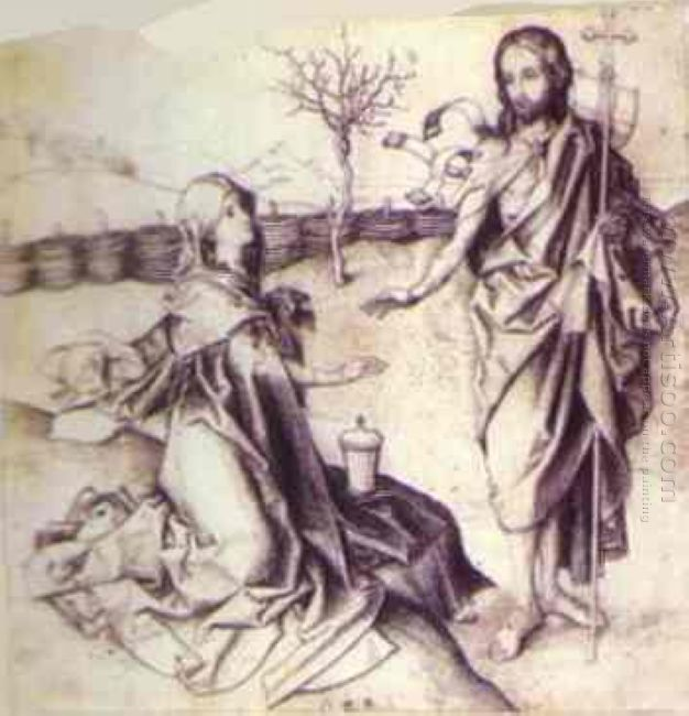 Our Saviour Appearing To Mary Magdalene In The Garden