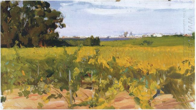 Outskirts Of Seville 1914
