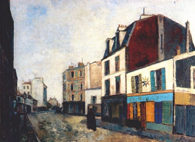 Paintshop At Saint Ouen