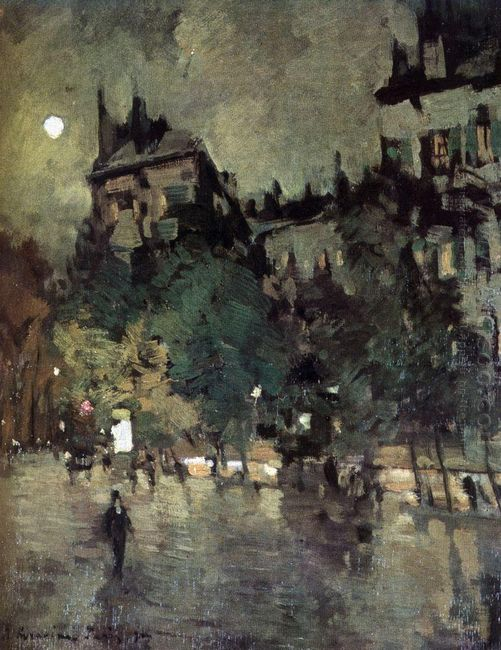 Paris After Rain 1900
