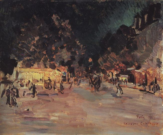 Paris At Night 1911