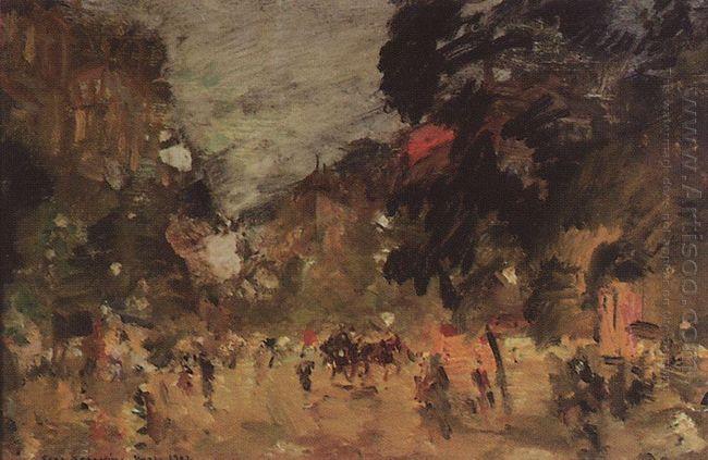 Paris Boulevard 1902