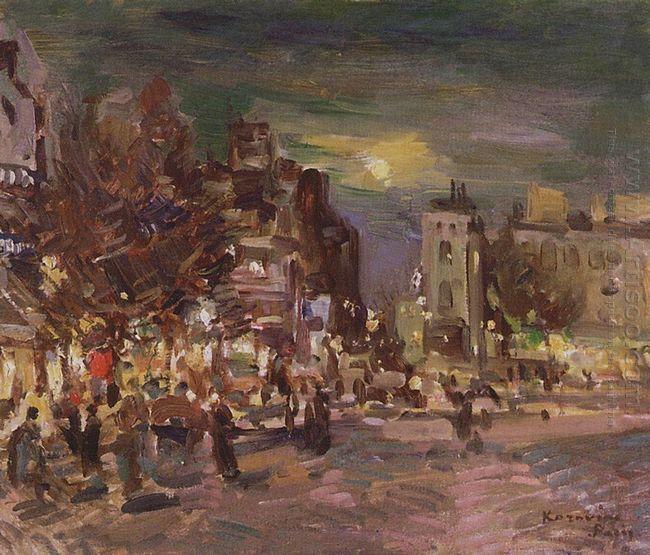 Paris Boulevard 1911