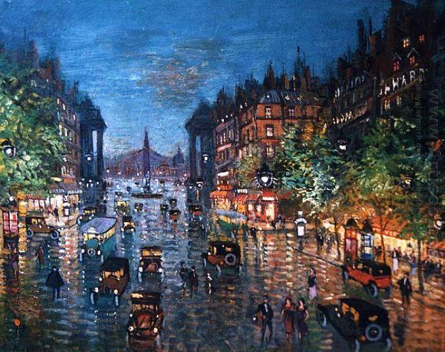 Paris Boulevard 1939