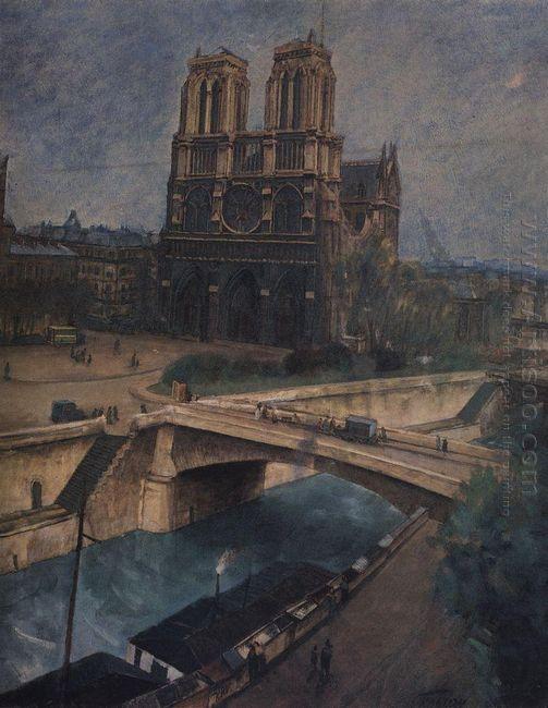 Paris Notre Dame 1924