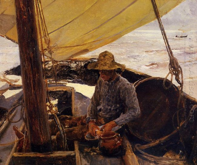 Peeling Potatoes 1891