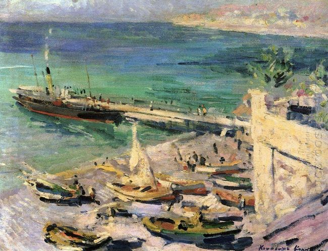 Pier In The Crimea 1913