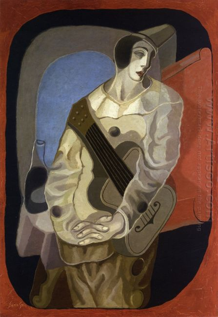 Pierrot With Guitar 1925