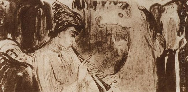Piping Shepherd 1904