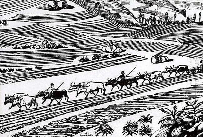 Plowing 1929