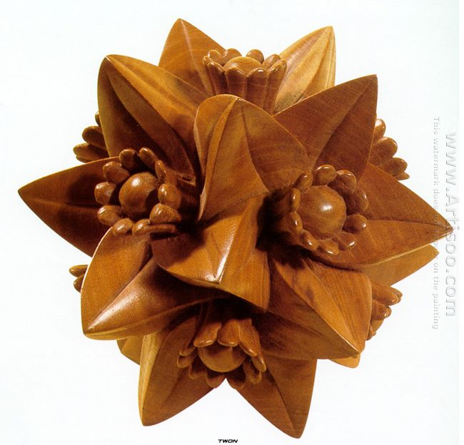 Polyhedron With Flowers