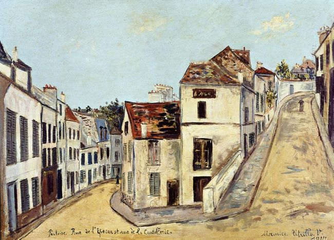 Pontoise L Eperon Street And Street De La Coutellerie