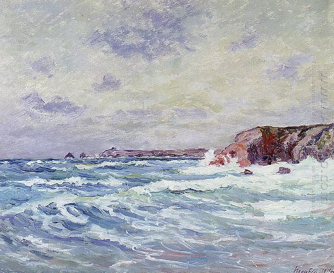 Port Bara Near The Ile De Quiberon 1914