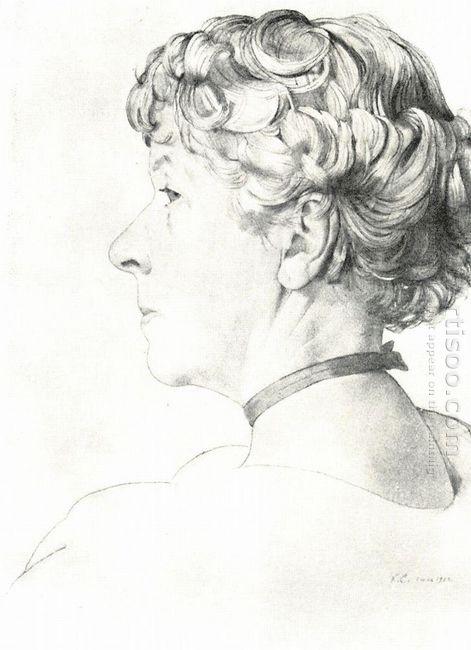 Portrait A Somova Mikhailova 1
