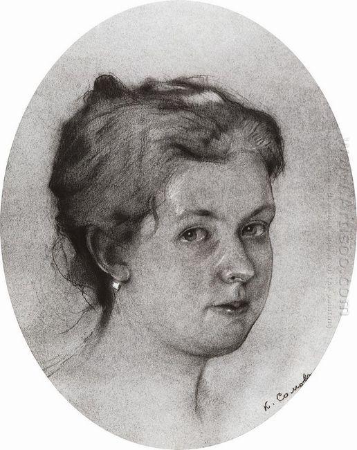Portrait A Somova Mikhailova