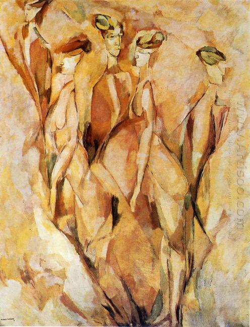 Portrait Dulcinea 1911