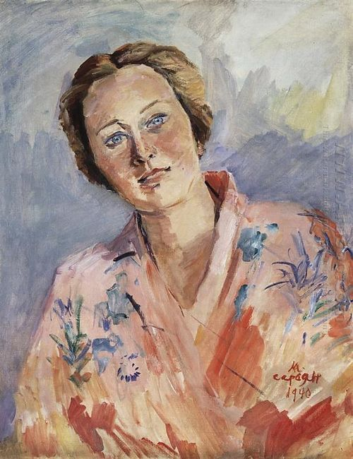 Portrait Of A Ballerina Galina Ulanova 1940