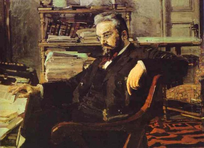 Portrait Of A Businessman K Artsybushev