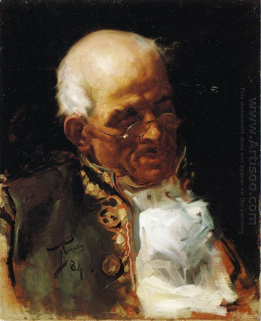 Portrait Of A Caballero 1884