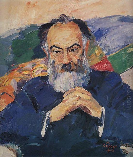 Portrait Of Academician Josef Orbeli 1943