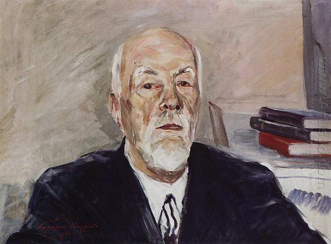 Portrait Of Academician Stepan Malkhasyan 1943