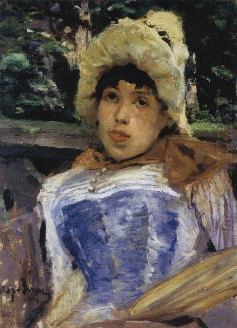 Portrait Of A Chorus Girl 1883