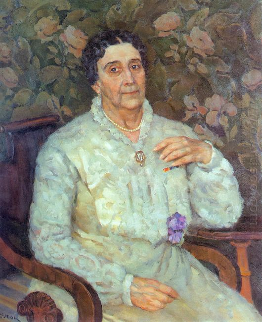 Portrait Of Actress E D Turchaninova 1945
