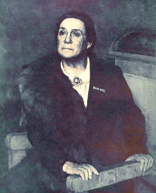 Portrait Of Actress V N Pashenina 1945