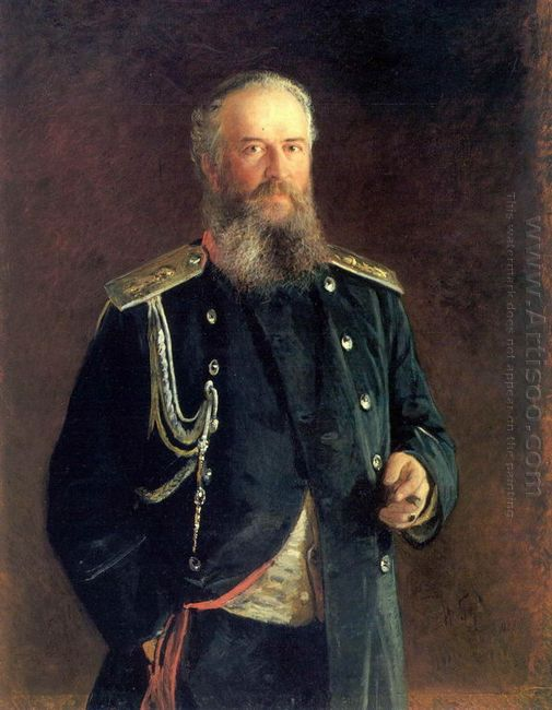 Portrait Of Adam Olsufyev