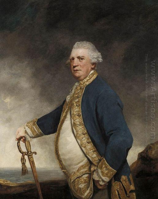 Portrait Of Admiral Augustus Keppel