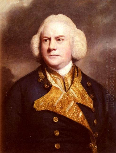 Portrait Of Admiral Thomas Cotes