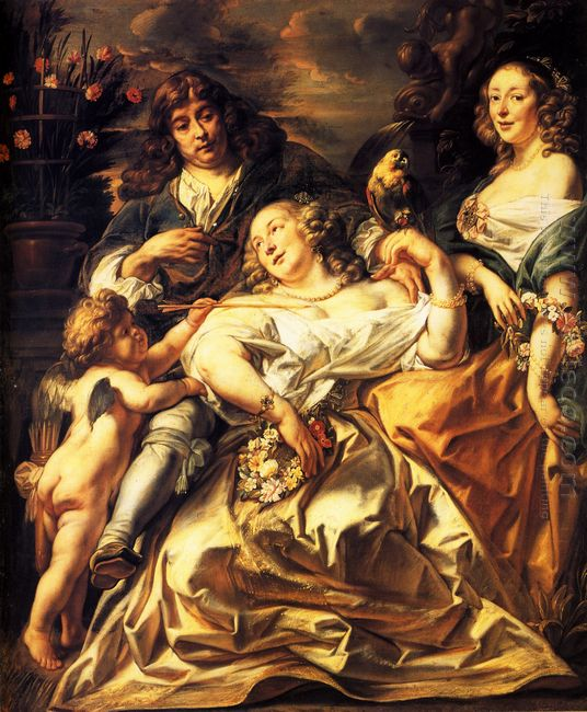 Portrait Of A Family 1650