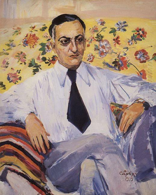 Portrait Of A Film Director Ruben Simonov 1939