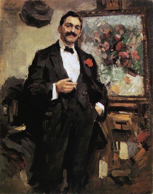Portrait Of A Hungarian Artist József Ripley Ronai 1912