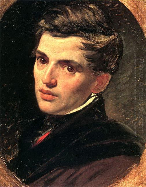 Portrait Of Alexander Bruloff 1827