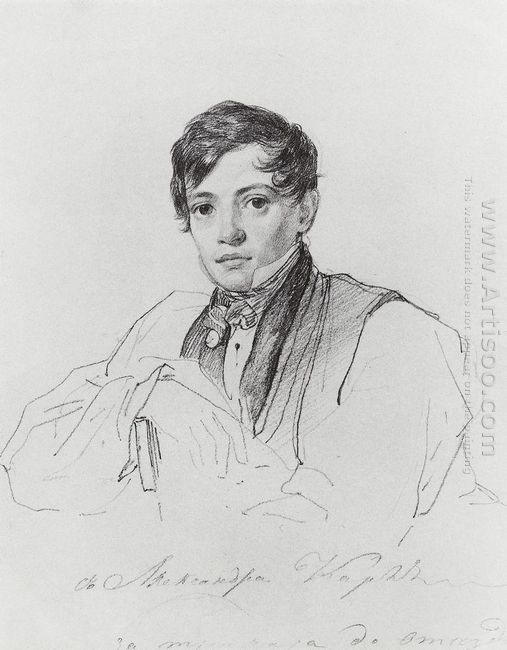Portrait Of Alexander Bruloff