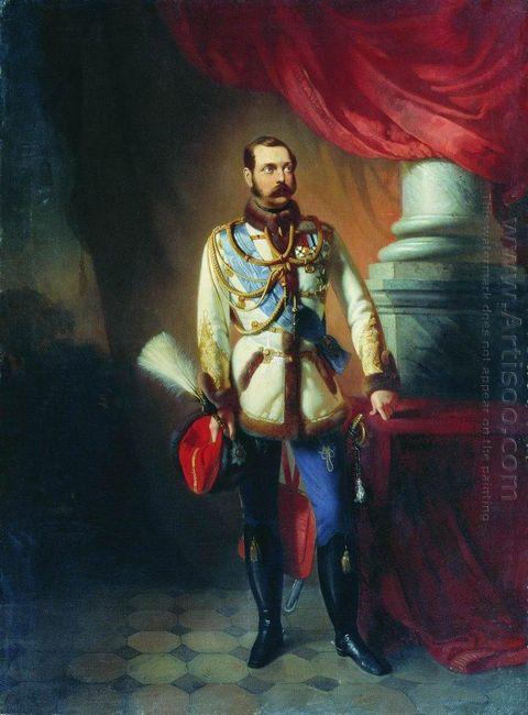 Portrait Of Alexander Ii Of Russia