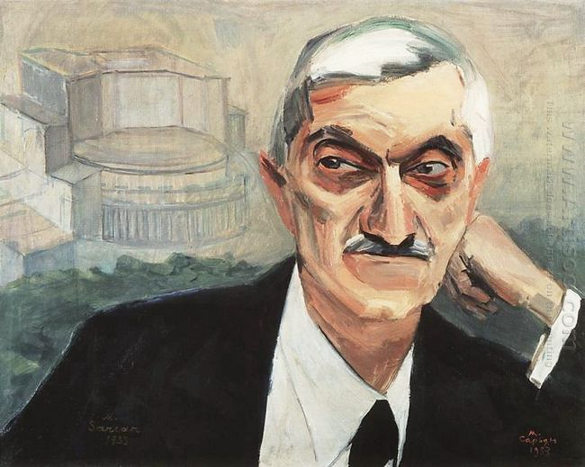Portrait Of Alexander Tamanyan 1933