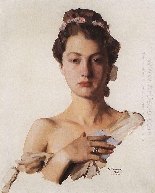 Portrait Of Alexandra Levchenko