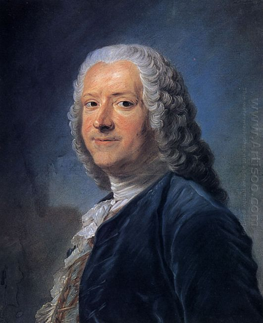 Portrait Of Alexandre Jean Joseph Le Riche De La Pouplini Re