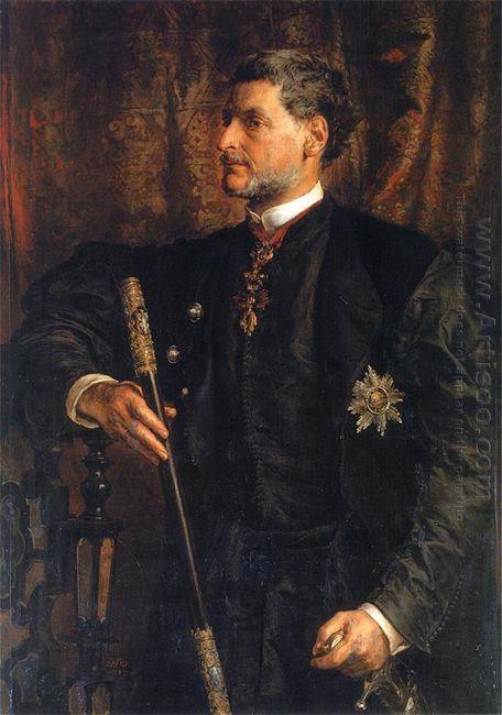 Portrait Of Alfred Potocki 1879