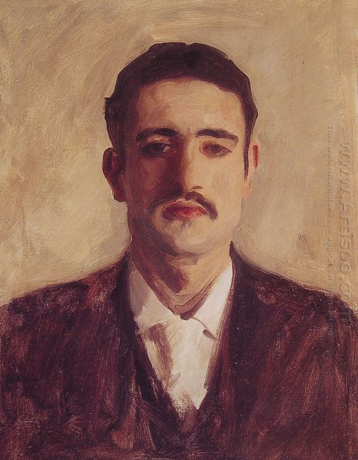 Portrait Of A Man Probably Nicola D Inverno