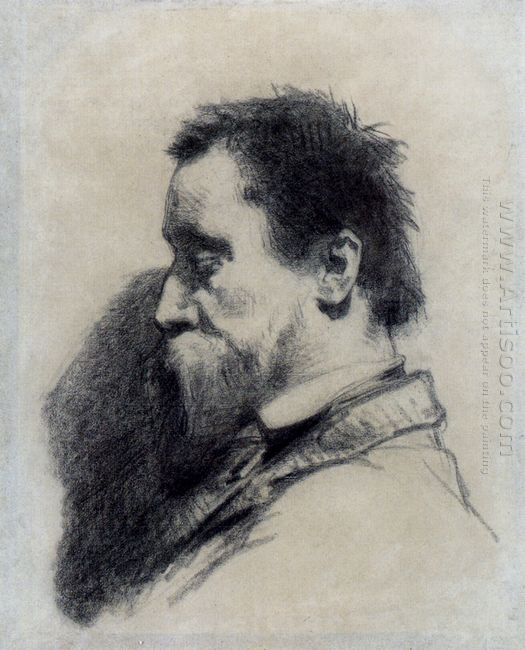 Portrait Of A Man Said To Be Leopold Desbrosses