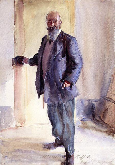 Portrait Of Ambrogio Raffele 1911