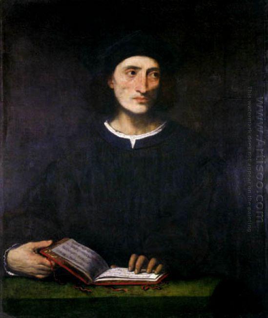 Portrait Of A Musician 1529